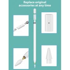 Адаптер Goojodoq для зарядки Apple Pencil 1 White