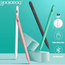 Стилус для планшета Apple iPad 2018-2021 Goojodoq 10 Gen Magnetic Type-C 1mm Black