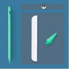 Стилус для планшета Apple iPad 2018-2021 Goojodoq 10 Gen Magnetic Type-C 1mm Green