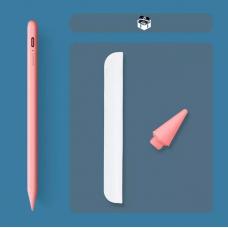 Стилус для планшета Apple iPad 2018-2021 Goojodoq 10 Gen Magnetic Type-C 1mm Pink