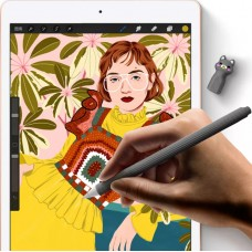 Чехол TPU Goojodoq Cartoon для стилуса Apple Pencil 2 Seagull Grey