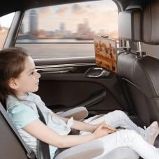 Автодержатель Baseus Fun Journey подголовник Backseat Lazy Bracket (SULR-A01) Black