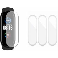 Защитная пленка полиуретановая Optima для Xiaomi Mi Band 5 (3шт) Transparent