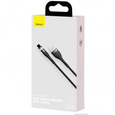 Кабель USB-Lightning Baseus Zinc Fabric Magnetic 3A (CALXC-KG1) Black/Gray 1m