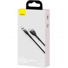 Кабель USB-Type-C Baseus Zinc Fabric Magnetic 3A (CATXC-MG1) Black/Gray 1m