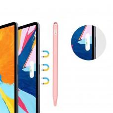 Чехол TPU Goojodoq Hybrid Ear для стилуса Apple Pencil 2 Pink