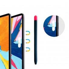 Чехол TPU Goojodoq Matt 2 Golor для стилуса Apple Pencil 2 Blue/Pink
