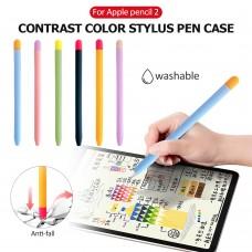 Чехол TPU Goojodoq Matt 2 Golor для стилуса Apple Pencil 2 Violet/Pink