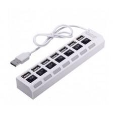 USB HUB Voltronic USB-USB 7USB 2.0 White (YT-H7SHS-W/10450)