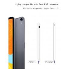 Чехол TPU Goojodoq для наконечника стилуса Apple Pencil (1-2 поколение) (8шт) Pink