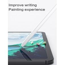Чехол TPU Goojodoq для наконечника стилуса Apple Pencil (1-2 поколение) (8шт) White