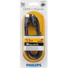 Кабель Philips HDMI-HDMI High Speed Ethernet 1.5m Black