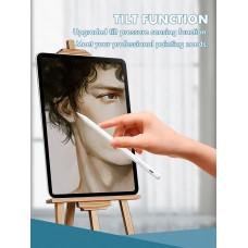 Стилус для планшета Apple iPad 2018-2021 Goojodoq 11 Gen Magnetic Type-C 1mm White