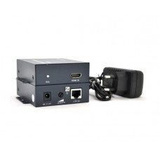 Адаптер HDMI-RJ45 DC-jack Voltronic (YT-SCPE HDM-100m1080Р/16769) Black