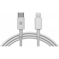 Кабель REAL-EL USB Type-C-Lightning 2m White (4743304104697)