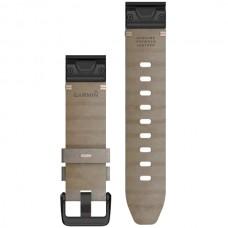 Ремешок TPU Garmin QuickFit 20mm для Garmin Fenix 6S Shale Gray Suede (010-12876-00)