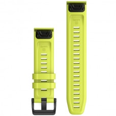 Ремешок TPU Garmin QuickFit 22mm для Garmin Fenix 6 Amp Yellow (010-12863-04)