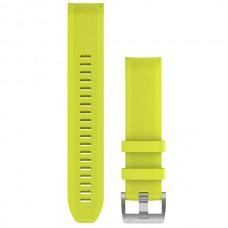 Ремешок TPU Garmin QuickFit 22mm для Garmin Marq Amp Yellow (010-12738-16)