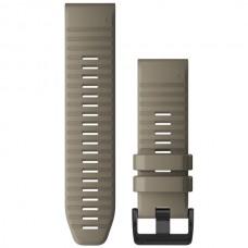 Ремешок TPU Garmin QuickFit 26mm для Garmin Fenix 6X Dark Sandstone (010-12864-02)