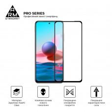 Защитное стекло Armorstandart Pro для Xiaomi Redmi Note 10 Black (ARM58728)