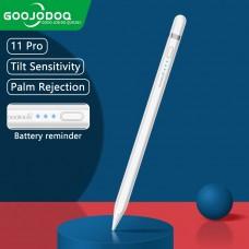 Стилус для планшета Apple iPad 2018-2021 Goojodoq 11 Gen Pro Magnetic White