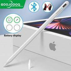 Стилус для планшета Apple iPad 2018-2021 Goojodoq 11 Gen Plus Bluetooth Magnetic 0.6mm White