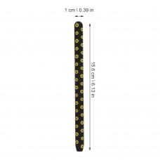 Чехол TPU Goojodoq Flowers Magnetic для стилуса Apple Pencil 2 Black