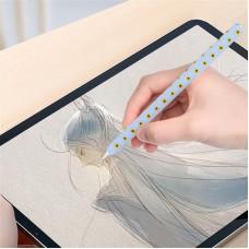 Чехол TPU Goojodoq Flowers Magnetic для стилуса Apple Pencil 2 Lavender