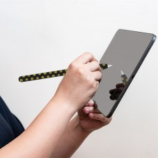 Чехол TPU Goojodoq Flowers Magnetic для стилуса Apple Pencil 2 Light Green