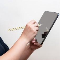 Чехол TPU Goojodoq Flowers Magnetic для стилуса Apple Pencil 2 White