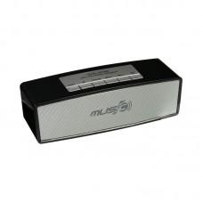 Колонка портативная Bluetooth Wster WS-636 черный