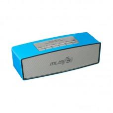 Колонка портативная Bluetooth Wster WS-636 синий