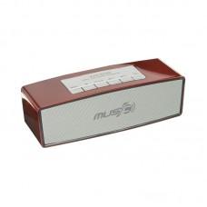Колонка портативная Bluetooth Wster WS-636 красный