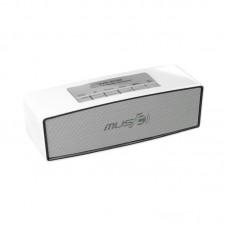Колонка портативная Bluetooth Wster WS-636 белый
