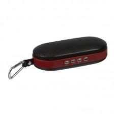 Колонка портативная Bluetooth Wster WS-Y98B красный