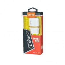 Зарядное устройство сетевое Ldnio 1USB 1A + cable USB-Lightning DL-AC50 White