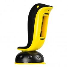 Автодержатель Remax RM-C20 Dolphin на торпедо Yellow