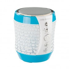Колонка портативная Bluetooth Wster WS-1805B синий