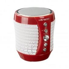 Колонка портативная Bluetooth Wster WS-1805B красный