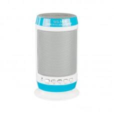 Колонка портативная Bluetooth Wster WS-1806B Blue