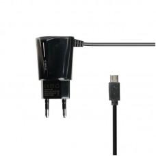 Зарядное устройство сетевое Gelius Pro Edition Auto ID 2USB + cable MicroUSB 2.4A черный