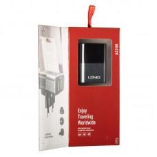 СЗУ Ldnio 2USB 2.4A + cable USB-Lightning DL-A2206 Black серый