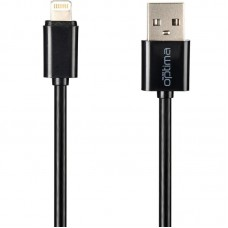 СЗУ Optima Avangard OP-HC02 2USB 2.4A + cable USB-Lightning Black