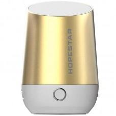 Колонка Bluetooth Hopestar H22 золотистый