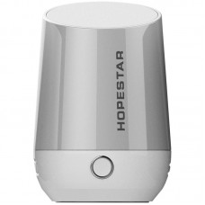 Колонка Bluetooth Hopestar H22 серебристый
