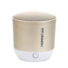 Колонка Bluetooth Hopestar H9 золотистый