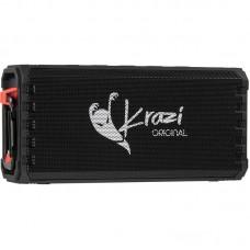 Колонка портативная Bluetooth Krazi Orca KZBS-002 черный