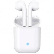 Наушники гарнитура вкладыши Bluetooth Hoco ES20 Plus White
