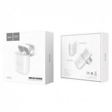 Беспроводное зарядное устройство Hoco CW18 AirPods Case White