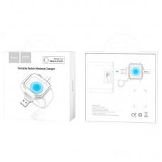 Беспроводное зарядное устройство Hoco CW19 iWatch White